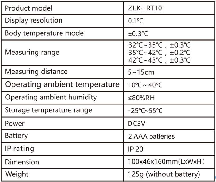 Termometro infrarossi Care4U